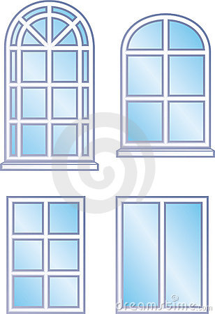 Window frames vector stock photos image 9683913 for Window design cartoon