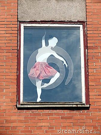 Window with girl