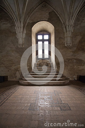 Free Window In Corvin Castle, Romania Royalty Free Stock Images - 48660099