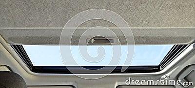 Window inside the car