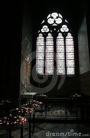 Free Window Of Notre Dame, Paris Royalty Free Stock Images - 13901899