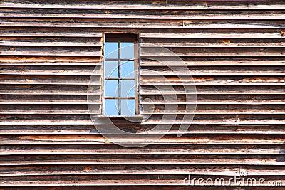 Window on old wall