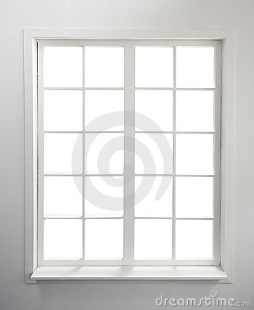 Free Window On White Royalty Free Stock Photos - 20121968