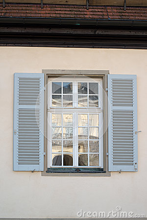 Window opposite Palace of the Solitude
