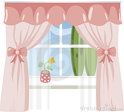 Asian Curtains, Oriential, Japanese, Chinese, Window, House
