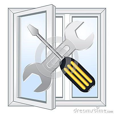Window repair workshop