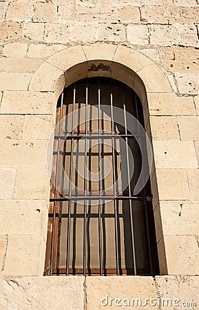 Window of a castle