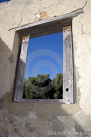 Window in Ruins