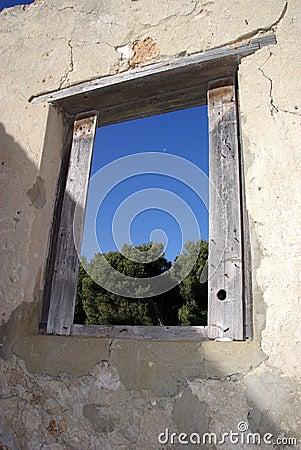 Window in Ruins