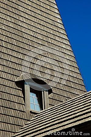 Window in shingle roof #01