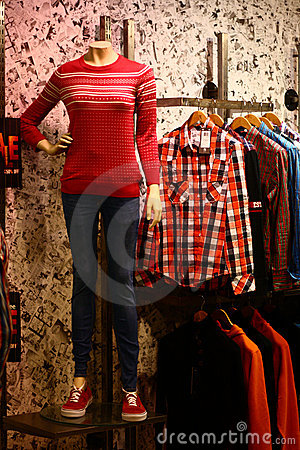 Window Shopping for Modern Casual Clothing