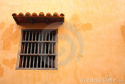 Window, spanish colonial style.