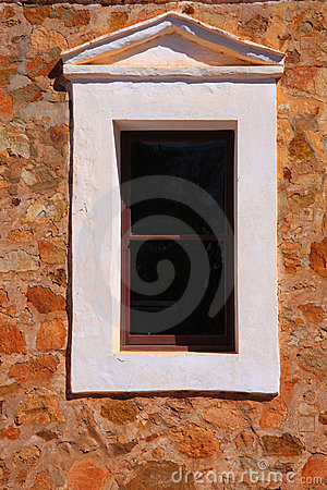 Window in Stone Wall