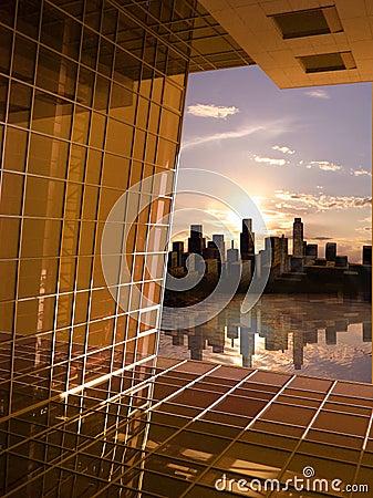 Window to future dawn