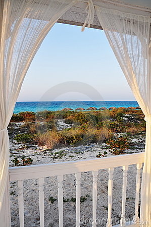 Free Window To The Sea Stock Images - 14018634