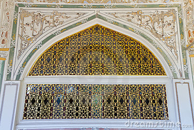 A window from Topkapi Palace