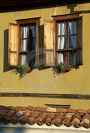 Window of a traditional home