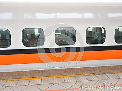 Window of the train