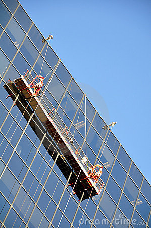 Free Window Washer Stock Photography - 12241312