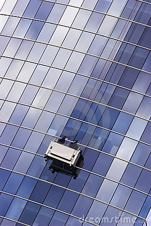 Free Window Washer Royalty Free Stock Images - 2453219