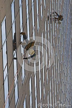 Free Window Washers Stock Image - 16096161