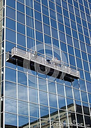 Free Window Washers Royalty Free Stock Photo - 225145