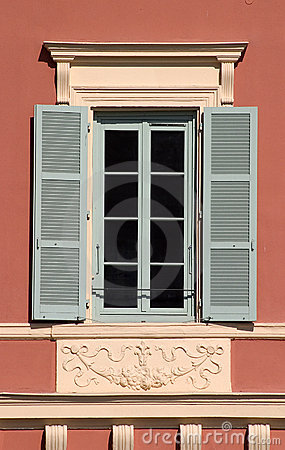 Free Window With Open Shutters Royalty Free Stock Image - 637166
