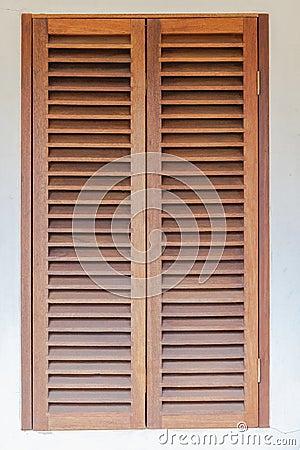 Free Window Wood Shutters Stock Image - 29868351