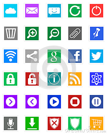 Free Windows 8 Icons - Metro Style Stock Images - 27435434