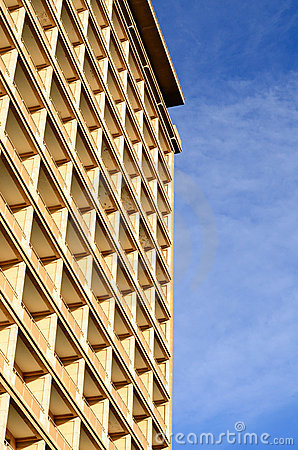 Free Windows Array Of Modern Hotel Building Stock Photography - 22581662