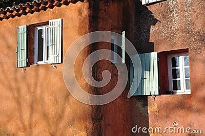 Windows composition, Roussillon, Provence
