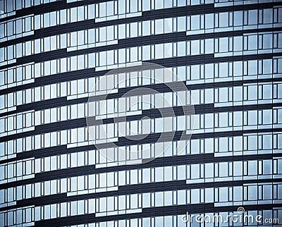 Windows de los edificios de oficinas