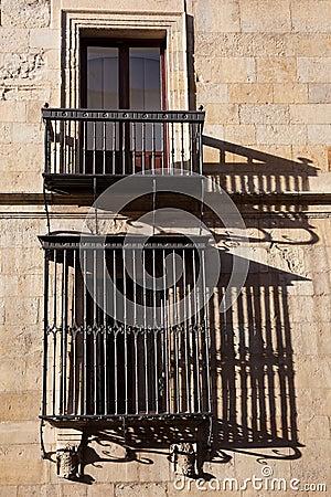 Windows del palazzo di Guzmanes