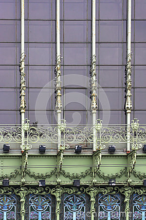 Windows of Eliseyev Emporium