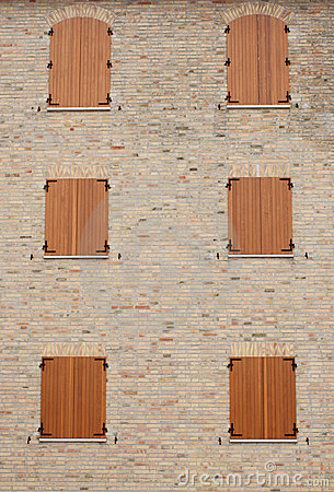 Windows of a medieval building