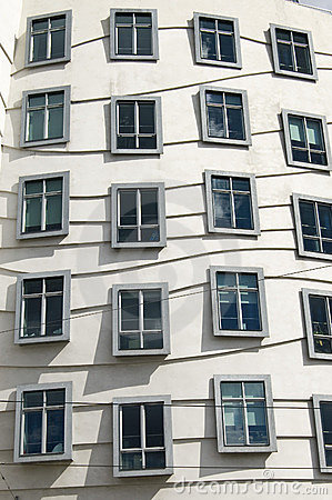 Windows Of A Modern Building Editorial Stock Photo