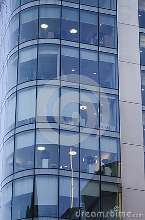Free Windows Of Skyscraper Business Office, Corporate Building In Man Royalty Free Stock Photo - 68216905
