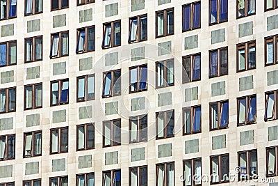Windows in Office block