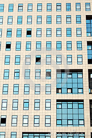 Windows of offices