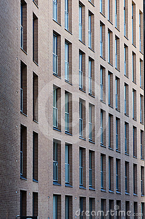 Windows of the old building