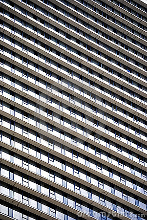 Free Windows On A Skyscraper Royalty Free Stock Images - 14069199