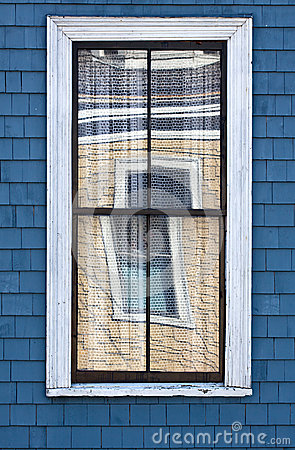 Window Reflected in Another Window
