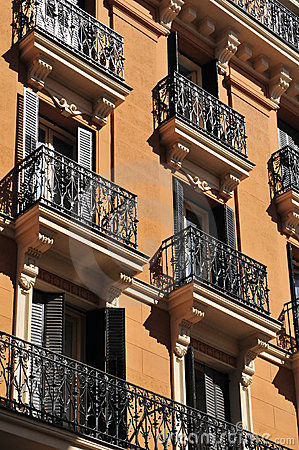 Free Windows With Balcony - Madrid Stock Image - 20891531