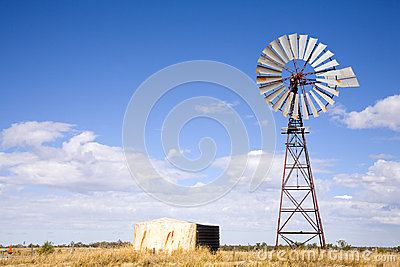 Windpump in Outback Australia