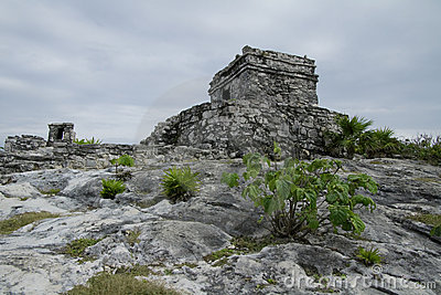 Winds God Temple At Tulum Stock Photography - Image: 12948302