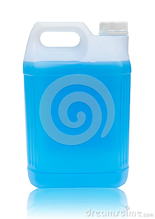 Windshield Washer Fluid with path
