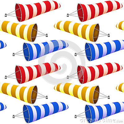 Windsock pattern