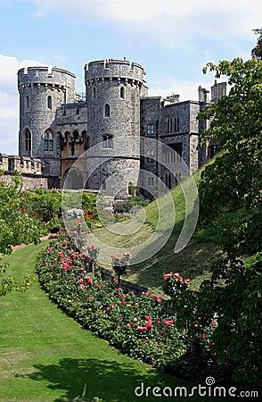 Free Windsor Castle Gateway Royalty Free Stock Photos - 15259268