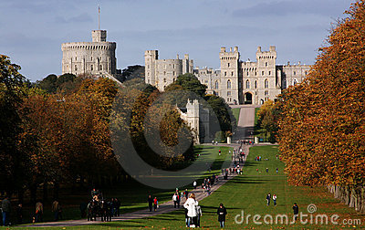 Windsor Castle, United Kingdom Editorial Stock Photo