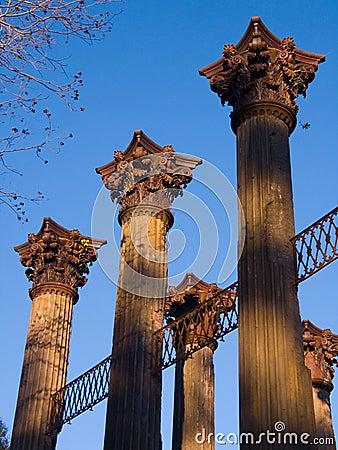 Windsor Ruins Columns